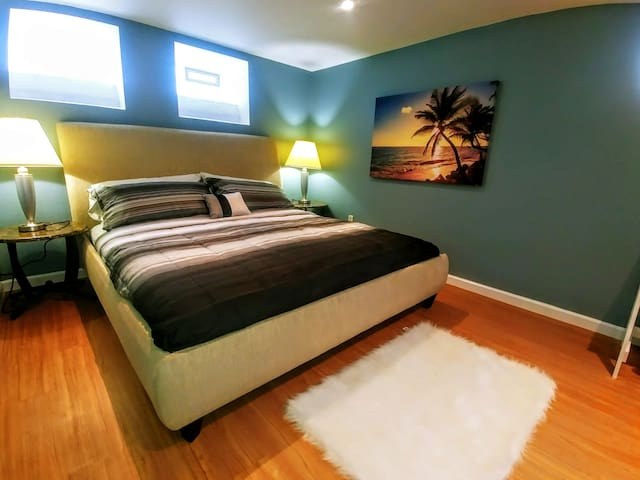 Spacious & Comfy Laid Out Basement Suite!