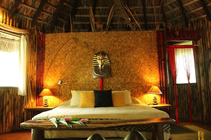 Cabaña Papiro: Jardín Secreto Resort Holístico.