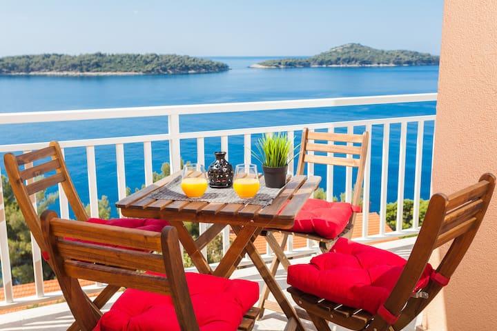 Croatia, Korcula, Breathtaking apt 1