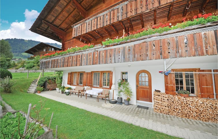 Holiday apartment with 1 room on 30 m² in Frutigen
