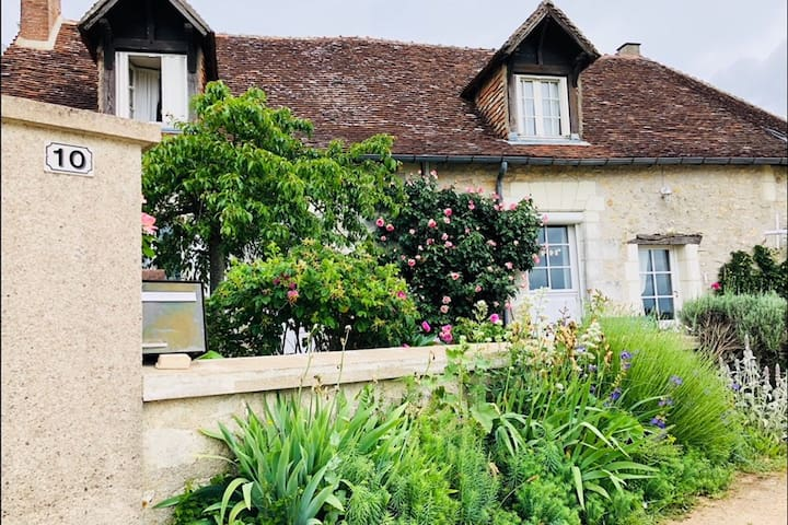 Chambre douillette proche Châteaux de la Loire