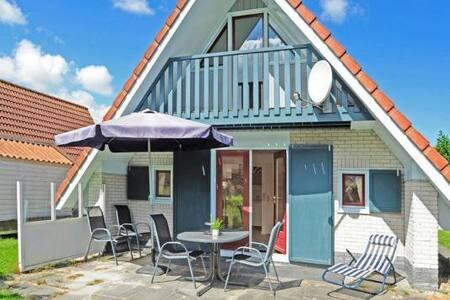4 pers. Haus Lilian an der Gracht am Lauwersmeer - Anjum - Casa