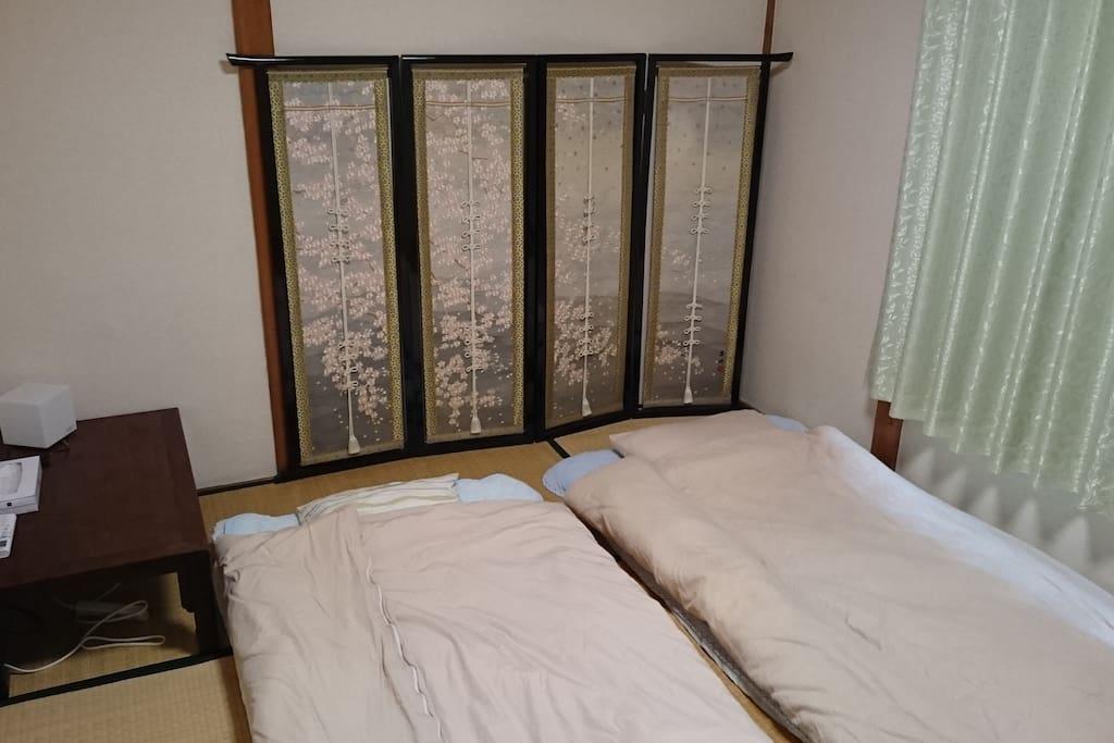 bedroom. 6 tatami mat