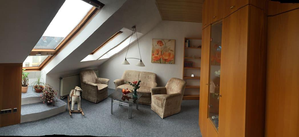 Einzimmer Apartement mit Doppelbett nähe Playmobil - Oberasbach