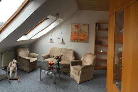 Einzimmer Apartement mit Doppelbett - Oberasbach