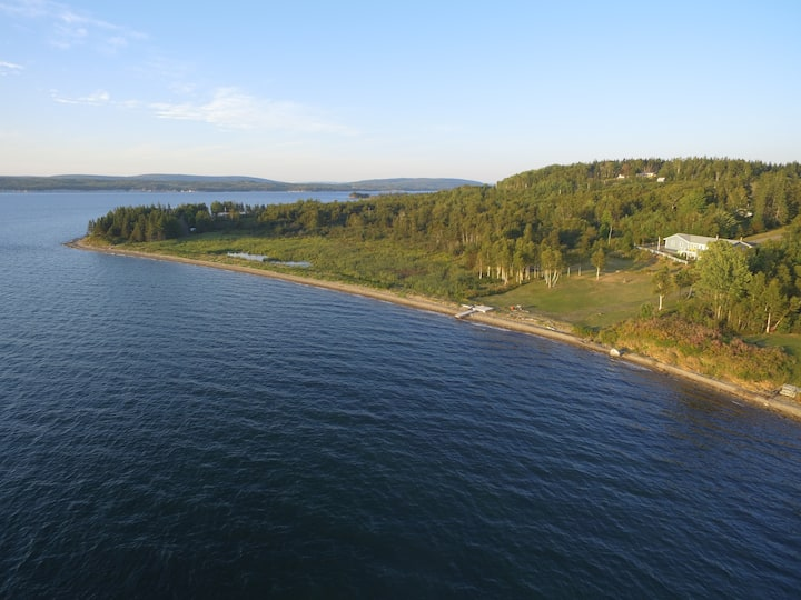 Year-round home on the Bras d'Or