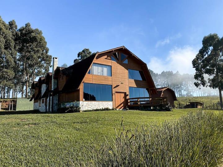 Casa de sítio estilo Celeiro - Estância da Chapada