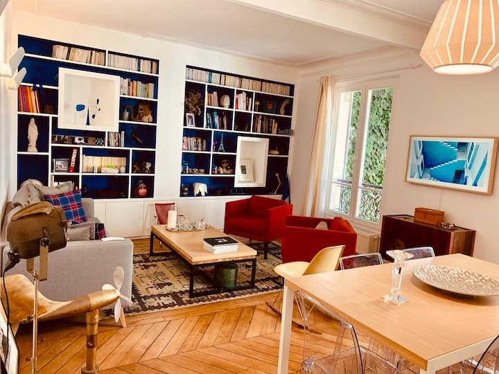 Lovely appartment in batignolles, near montmartre