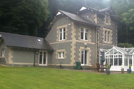 Historic lodge now converted and extended. - Conwy