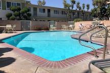 Pool and hot tub.