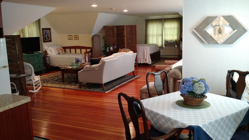 Spacious 900 sq. ft Suite - sleeps 2 to 6 guests