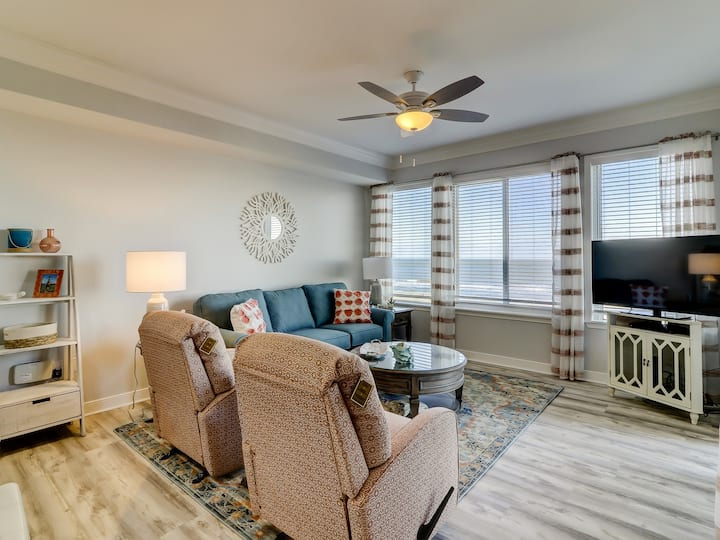 3404 SeaCrest Oceanfront Complex ~ Just Steps from the Beach!
