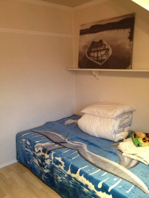 One 120cm bed
