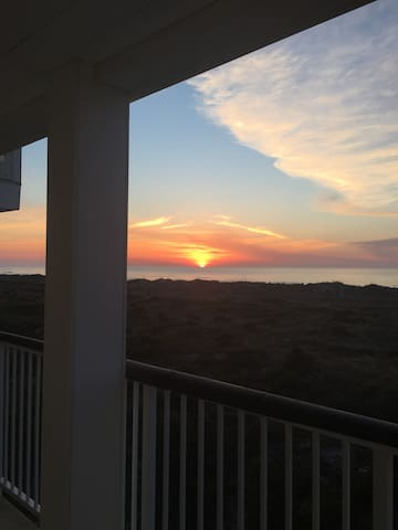 Seaside Sunrise at Wrightsville Dunes