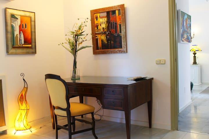 Precioso apartamento en Benalmedena Puerto - Benalmádena - Huis