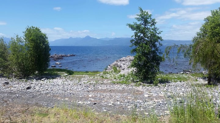 Casa lago ranco sector Puerto Nuevo