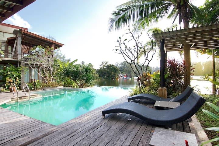 Sritanu Lake Cottage in Vegan Paradise