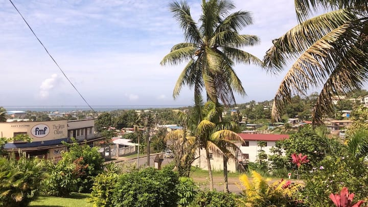 Ocean view from a Hilltop