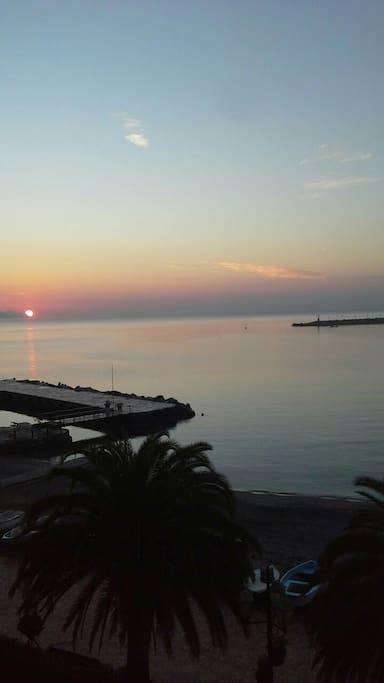alba a Santa Margherita Ligure