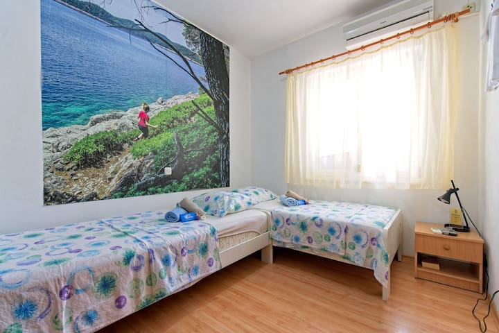 Budget Twin Room in Pomena