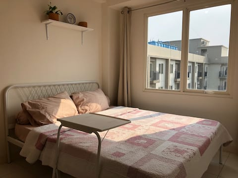 Charming new apartment 2BR with balcony