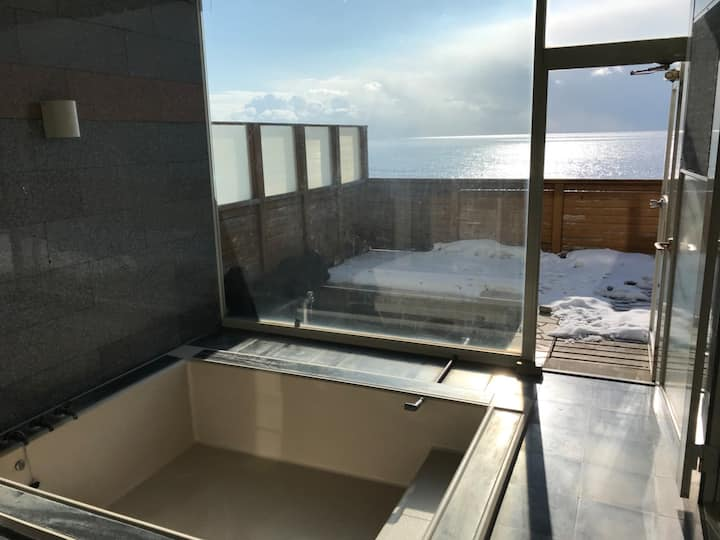 Renewal Private hot spring  Ocean view For groups
