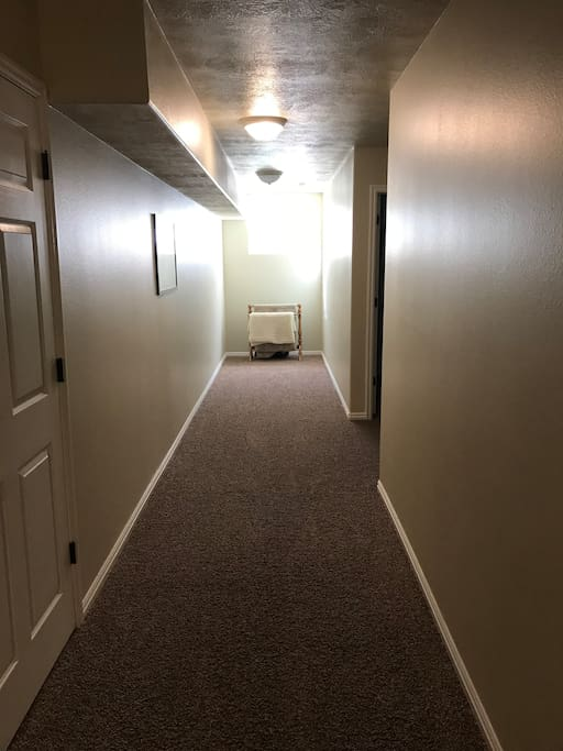 Hall Leading to AirBnB Rooms
