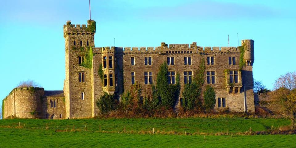 Ireland's oldest inhabited castle is just 6 Kms up the road.