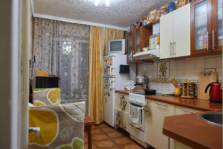 Big 70 m2 Loft Style Apartment. - Troitskoye - Apartment