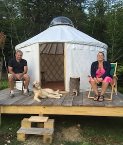 Yurt in Warren Vermont - Jurta