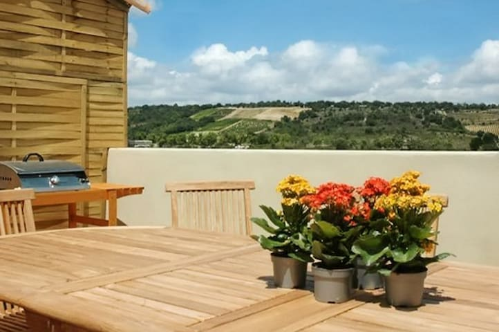 Luxury house with jacuzzi & terrace - La Digne-d'Aval - Huis