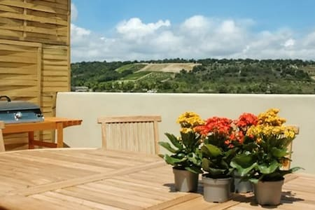 Luxury house with jacuzzi & terrace - La Digne-d'Aval - Дом