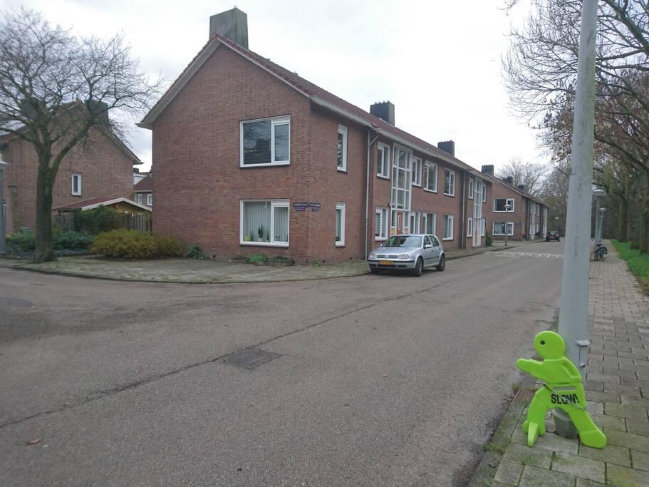 Mijn straat en huis