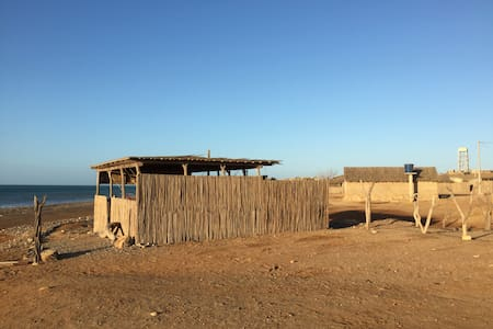 Cabaña Wapuna, Cabo de la Vela. Hotel Kayuusipaa - Cabo de La Vela - Boutique-hotelli