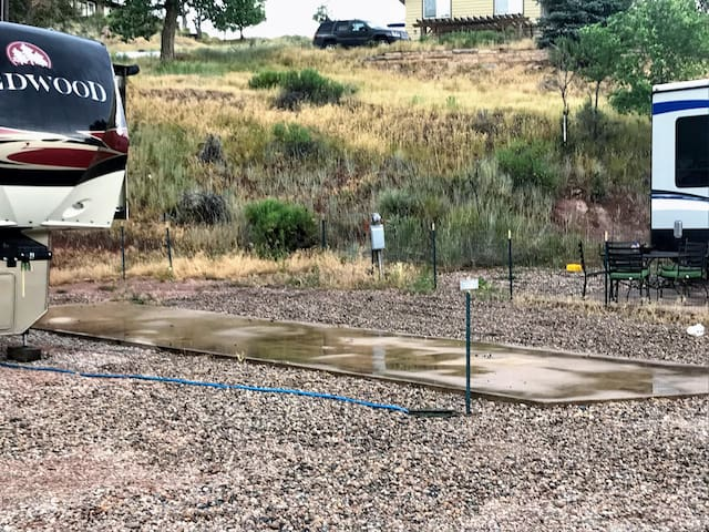 Horsetooth RV Park- Full Hook Up-Back In - Site #5