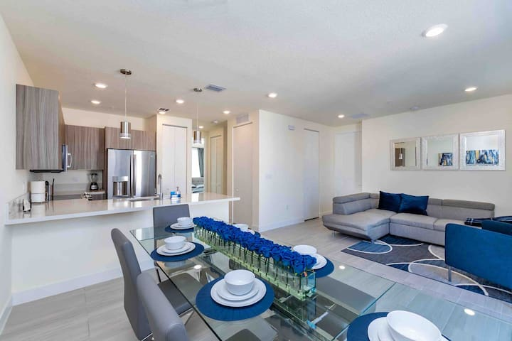 Luxury and New apartament in Miami - Free Parking!