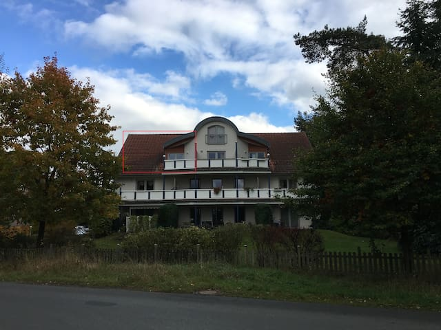 Ferienwohnung 85 m² mit Balkon - Neuenkirchen - Apartament