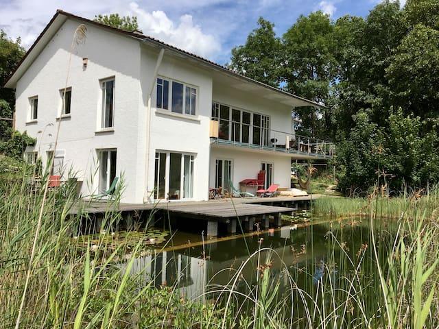 Ferienwohnung Holunder - mit Schwimmteich!
