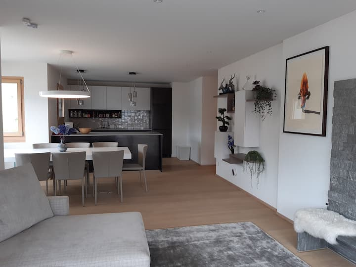 Luxurious 3 bedroom ensuite apartment & fireplace