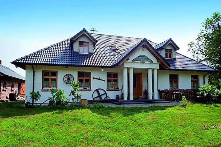 Dworek przy Świdwiu - parter domu - Węgornik - Byt