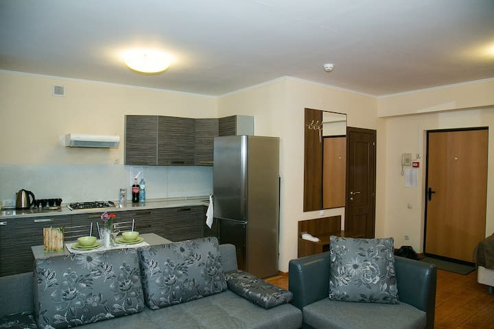 Studio with all the necessary things near Vnukovo - Moskwa - Apartament