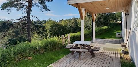 Steinkjer,apartment,garden,view :)