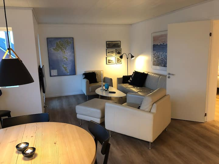 New apartment in the heart of Tórshavn.