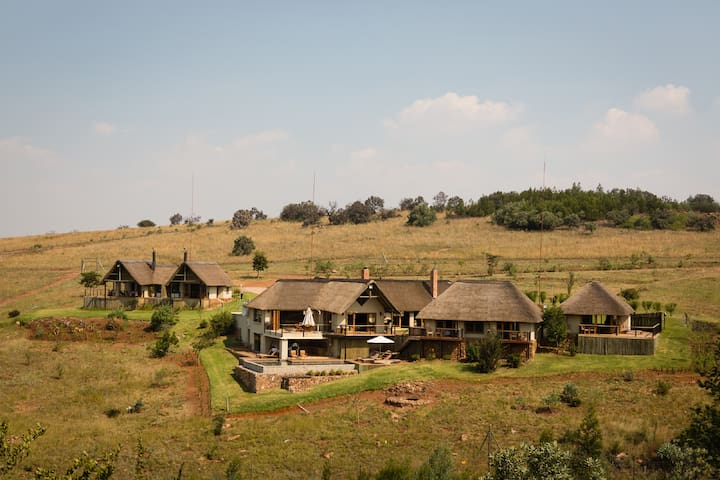 Main Lodge Suite - Sibani Lodge - Krugersdorp - Penzion (B&B)