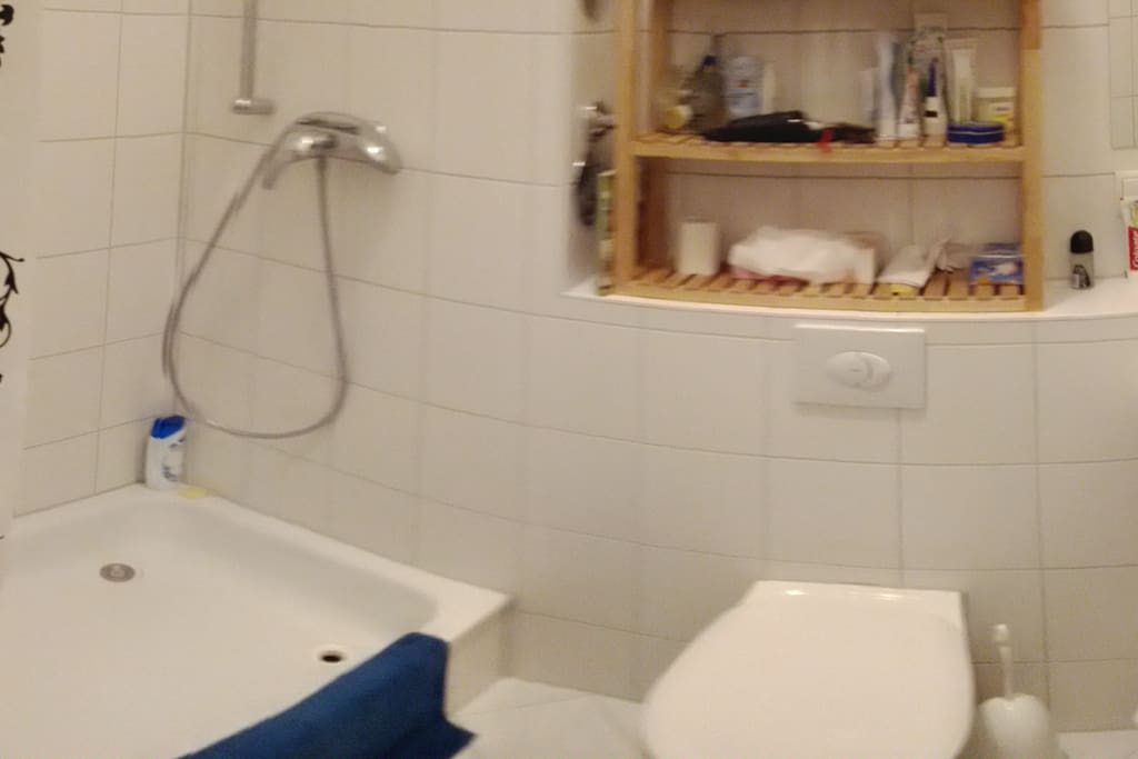 The modern bathroom is a nice place for getting prepared for the day