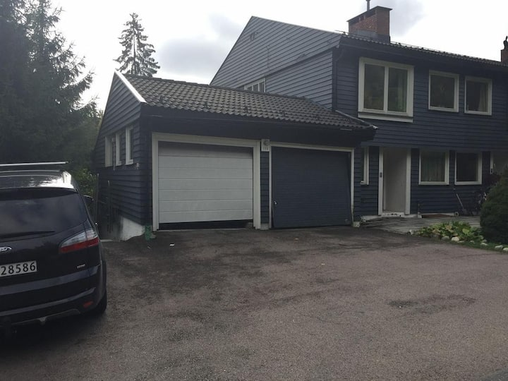 Beautiful house in the outskirts of Oslo Room 1