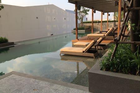 New Private1BD condo, Near Skytrain - Nonthaburi - Osakehuoneisto