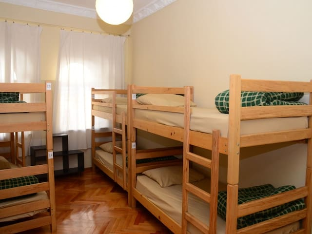 6-Bed Mixed Dorm.  Globus Guesthouse and Hostel Batumi