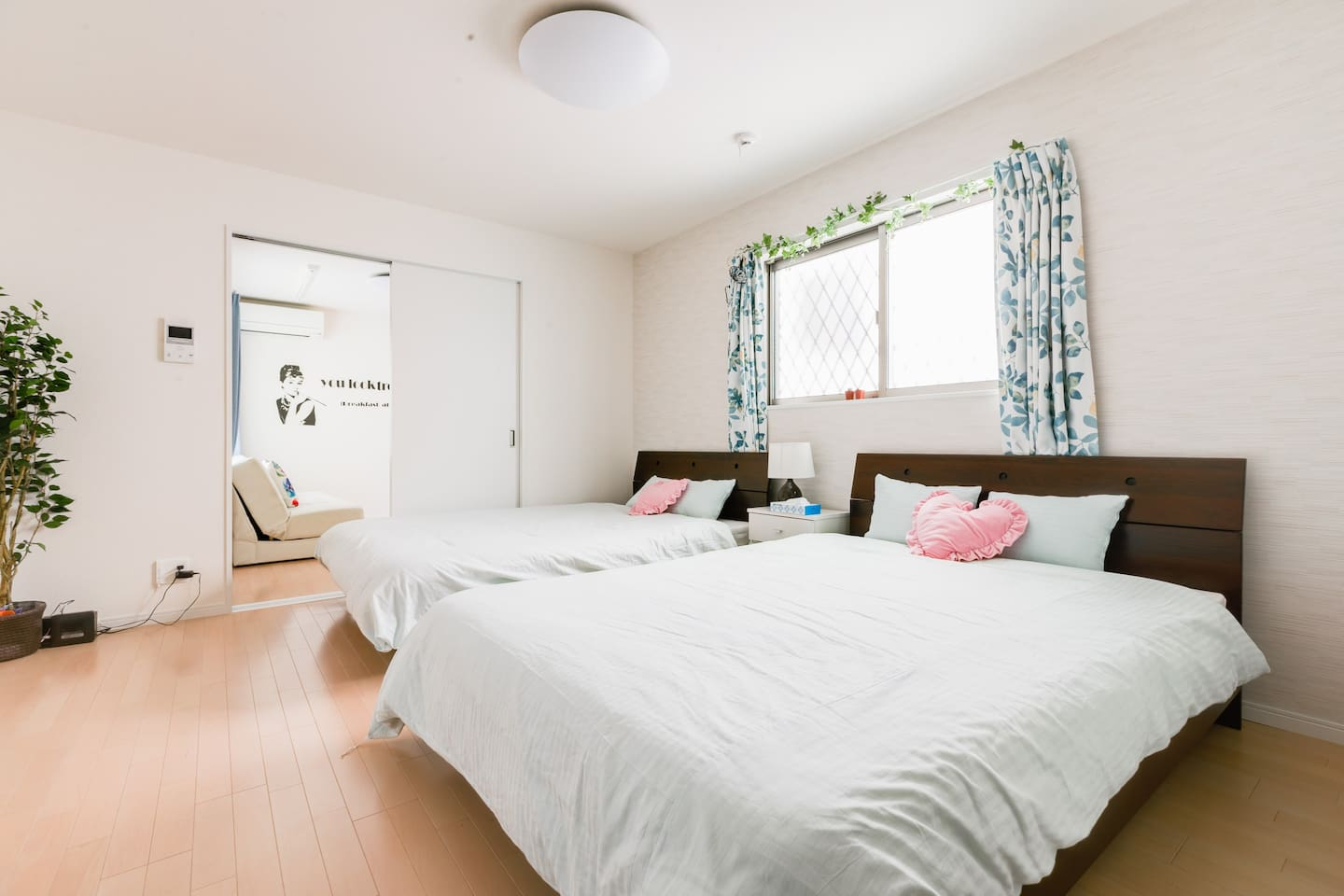 New Apartment with 2 Double Beds and Sofa Bed!