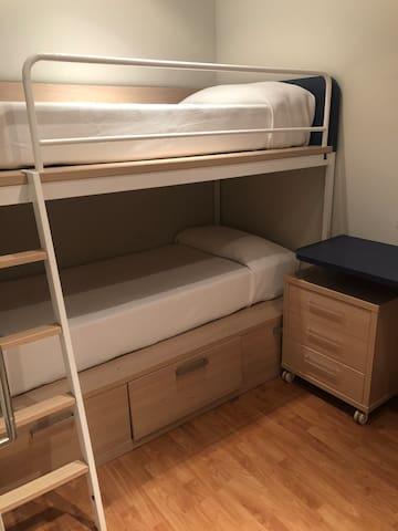 Habitación con literas 2pax